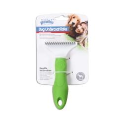 Pawise - 11466 Plastik Saplı Tırmık Köpek Fırçası