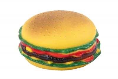 14121 Hamburger Köpek Oyuncağı 13 cm