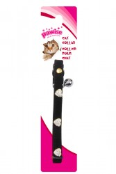 Pawise - 28012 Kalpli Taşlı Kedi Boyun Tasması