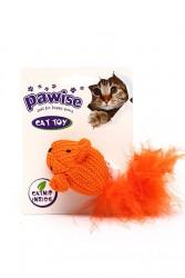 Pawise - 28123 Pawise Tüylü Doğal Kedi Oyuncağı.