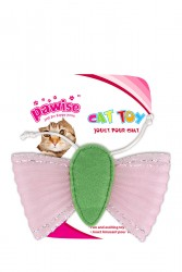 Pawise - 28157 Tül Kanatlı Peluşlu Kelebek Kedi Oyuncağı