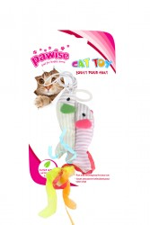 Pawise - 28171 İkiz Balıklı Parmağa Takılan Kedi Oltası