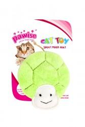 Pawise - 28182 Peluş Kaplumbağa Kedi Oyuncağı