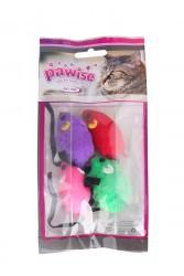 Pawise - 28202 Fare 4'lü Paket Kedi Oyuncağı