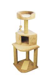 Pawise - 28650 Yuvalı Ve Oturmalı Kedi Tırmalama 128 cm