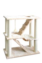 Pawise - 28688 Merdivenli ve Hamaklı Kedi Tırmalama 95 cm