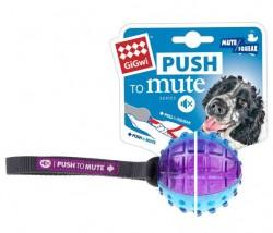 GiGwi - 6178 Push To Mute Gülle Ses Kont. Köpek Oyun.