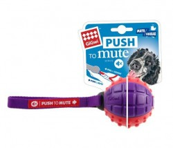 GiGwi - 6179 Push To Mute Gülle Ses Kont. Köpek Oyun.