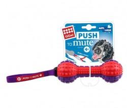 GiGwi - 6182 Push To Mute Dambıl Ses Kont.18 cm Köpek Oyun