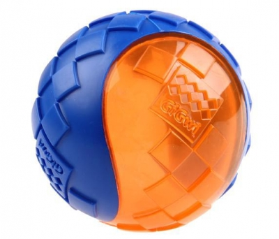 6194 Gigwi Ball Sert Top 6 cm Köpek Oyun.
