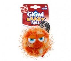 GiGwi - 6202 Crazy Ball Çılgın Kirpi Top 6 cm Turuncu