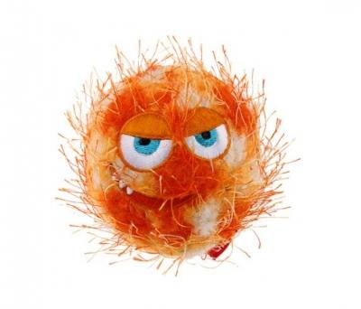 6202 Crazy Ball Çılgın Kirpi Top 6 cm Turuncu
