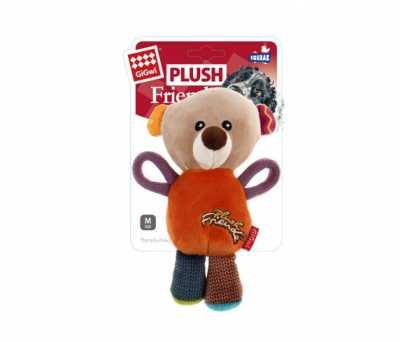 6283 Plush Friendz Sesli Ayı Peluş Köpek Oyuncagı