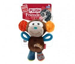 GiGwi - 6286 Plush Friendz Sesli Maymun Peluş Köpek Oyunca