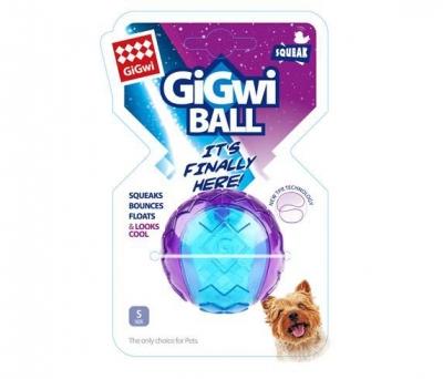 6295 Gigwi Ball Sert Top 5 cm Köpek Oyun.