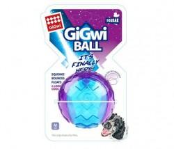 GiGwi - 6297 Gigwi Ball Sert Top 6 cm Şeffaf Renkli