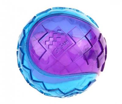6297 Gigwi Ball Sert Top 6 cm Şeffaf Renkli