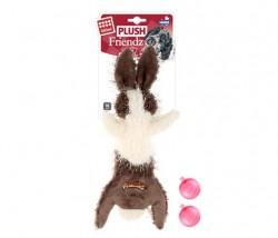 GiGwi - 6304 Plush Friendz Sesli Tavşan Peluş Köpek Oyunca