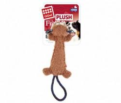 GiGwi - 6314 Plush Friendz Dayanıklı Diş İpi Maymun