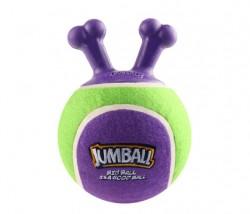 GiGwi - 6328 Jumball Tenis Topu Tutmalı Mavi-Yeşil