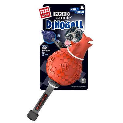 GiGwi - 6470 Dinoball Dinazor Sesli Oyuncak Turuncu