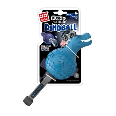 GiGwi - 6475 Dinoball Mavi Dinazor Sesli Oyuncak