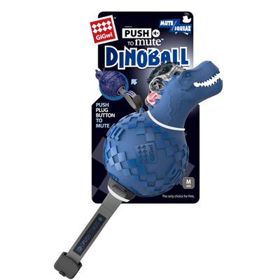 GiGwi - 6479 Dinoball Dinazor Sesli Oyuncak Mavi