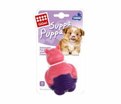 6711 Suppa Puppa Hipopotam Pembe Mor