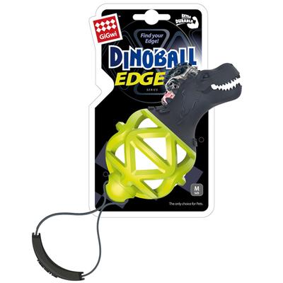 GiGwi - 6731 Dinoball Yeşil Dinazor Diş Kaşıma Oyuncağı
