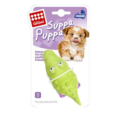 GiGwi - 6983 Suppa Puppa Timsah Diş Kaşıma Yeşil/Mor