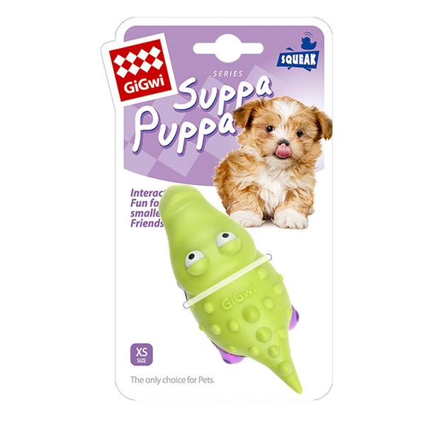 6983 Suppa Puppa Timsah Diş Kaşıma Yeşil/Mor