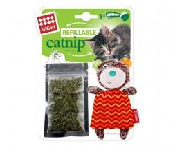 GiGwi - 7057 Catnipli Ayı Kedi Oyuncagı