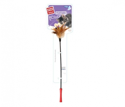 7063 Feather Teaser Kedi Oltası Doğal Tüylü 60 cm