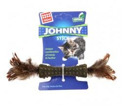 GiGwi - 7070 Johnny Stick Catnipli Doğal Kahverengi Çift T