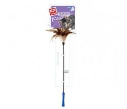 GiGwi - 7073 Feather Teaser Kedi Oltası Doğal Tüylü 60 cm