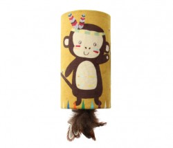 GiGwi - 7223 Melody Chaser Maymun Sesli Tube Oyuncak