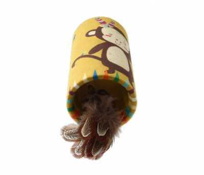 7223 Melody Chaser Maymun Sesli Tube Oyuncak