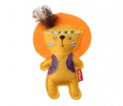 GiGwi - 7234 Catnipli Aslan Peluş Kedi Oyuncagı