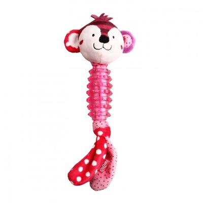 GiGwi - 8009 Suppa Puppa Sesli Maymun Diş Kaşıma