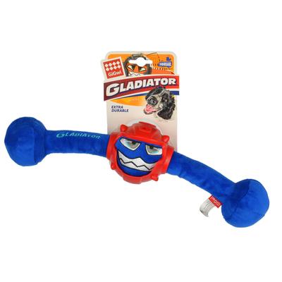 GiGwi - 8041 Sesli Gladiatör Peluş Oyuncak Mavi Medium