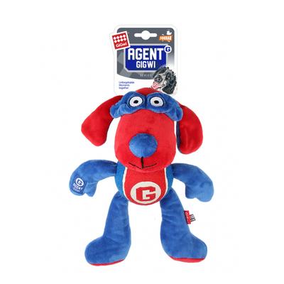 GiGwi - 8086 Sesli Süper Kahraman Peluş Oyuncak Köpek