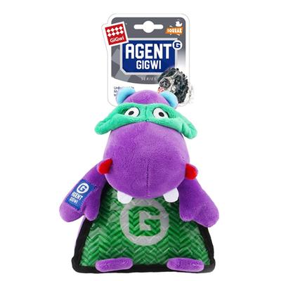 GiGwi - 8101 Sesli Peluş Hipopotam Köpek Oyuncağı