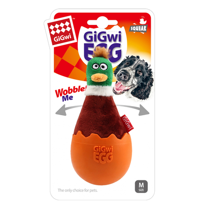 GiGwi - 8128 Yumurtadan Çıkan Ördek Köpek Oyuncak