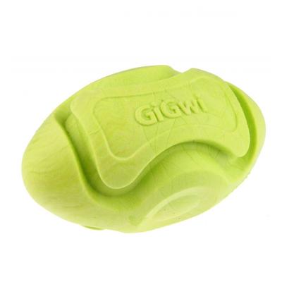 8206 Kauçuk Diş Kaşıma Topu Rugby Yeşil - Thumbnail
