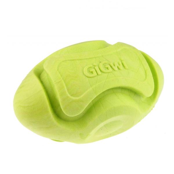 8206 Kauçuk Diş Kaşıma Topu Rugby Yeşil