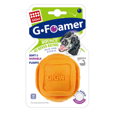 GiGwi - 8210 Kauçuk Diş Kaşıma Topu Turuncu