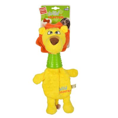 GiGwi - 8481 Diş Kaşıyıcılı Aslan Peluş Köpek Oyuncak