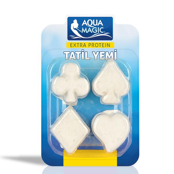 Aqua Magic Haftalık Tatil Yemi 4'lü 10 Adet