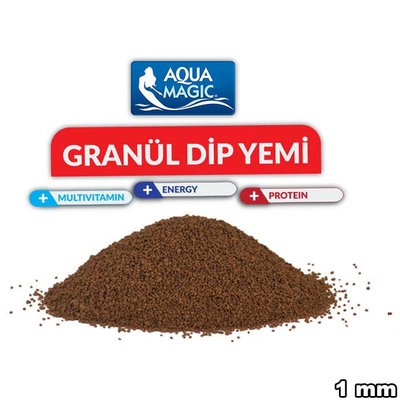 Aqua Magic - Aqua Magic Granül Dip Yemi 1 kg (1mm)