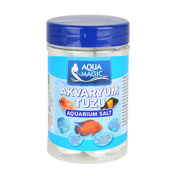 Aqua Magic Kavanoz Akvaryum Tuzu 250 gr-12 Adet
